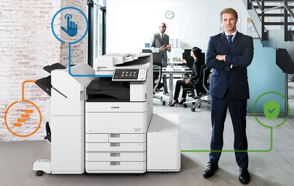options disponibles pour mon photocopieur multifonction