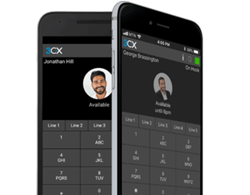 3cx - applications iOS et Android